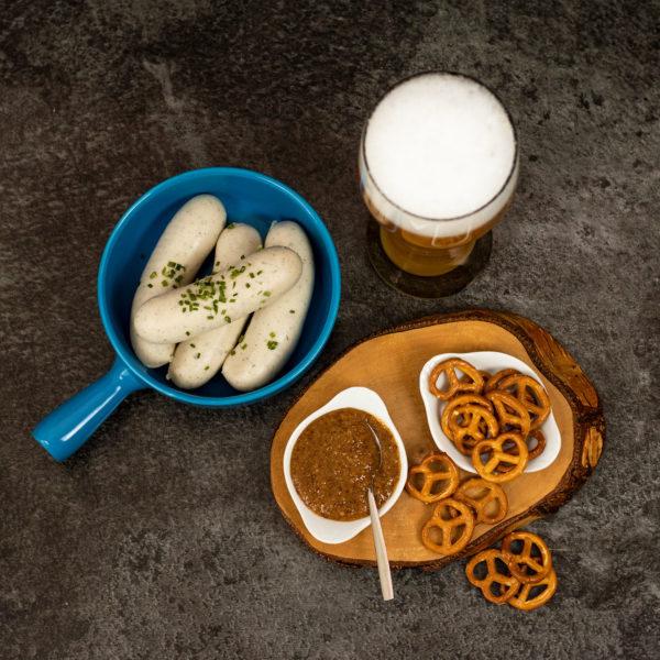 Präsentkorb Augsburg - Weißwurst Frühstück Geschenk