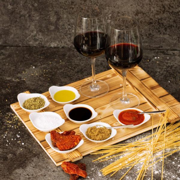 Präsentkorb Florenz - italienische Spezialitäten und Wein