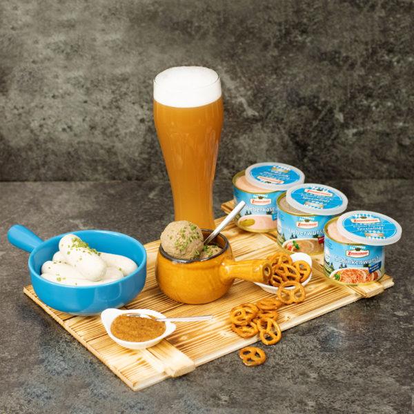 Bayerischer Präsentkorb für Männer Bier