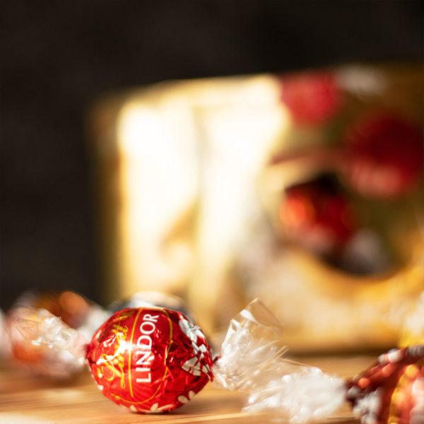 Geschenkbox Mailand - Lindt Geschenkkorb