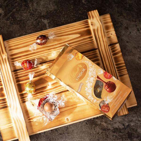 Geschenkbox Mailand - Lindt Pralinen Präsentkorb