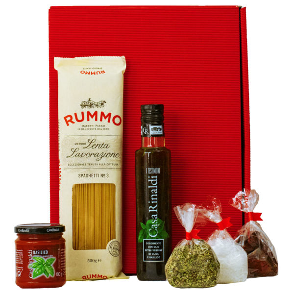 Geschenkbox Neapel - Pasta Geschenkset