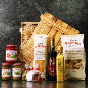 Geschenkbox Pisa - Pasta Geschenk Rummo Nudeln