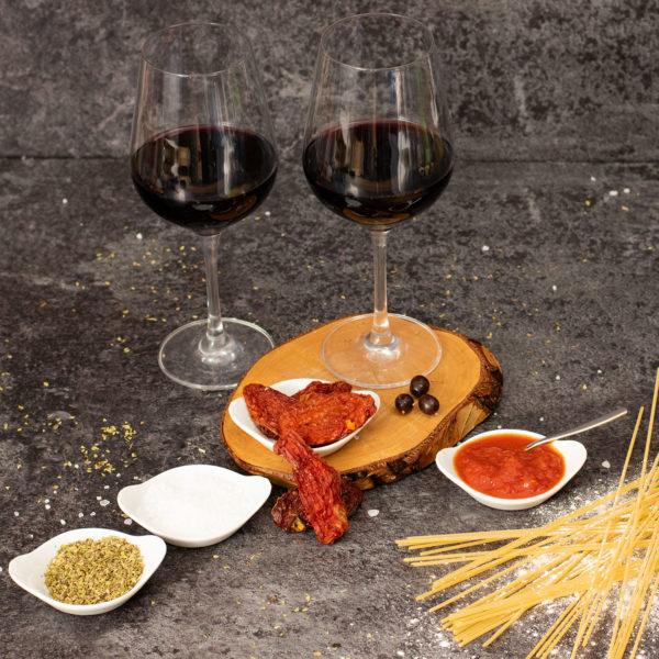 Geschenkset Rom mit Rotwein und Italienische Spezialitäten