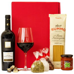 Geschenkbox Rom - Feinkost und Wein