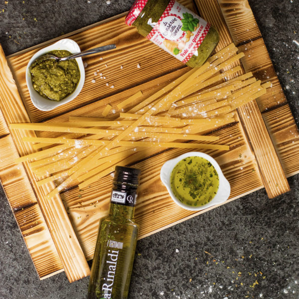 Präsentkorb Italienisch mit Olivenöl - Verona