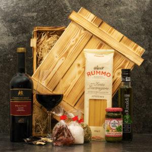 Geschenkbox Verona - italienischer Geschenkkorb