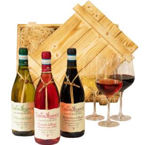 Wein Geschenkbox Abruzzo - weinset