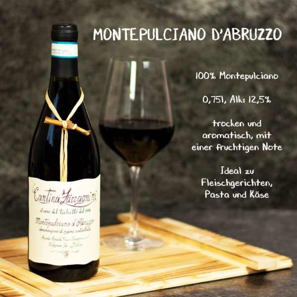 Rotwein Geschenkset Montepulciano