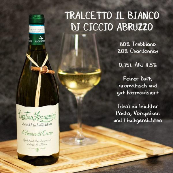 Weinset Weißwein Italien