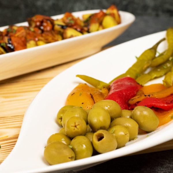 Vegetarisch Tapas Geschenkkorb aus Spanien