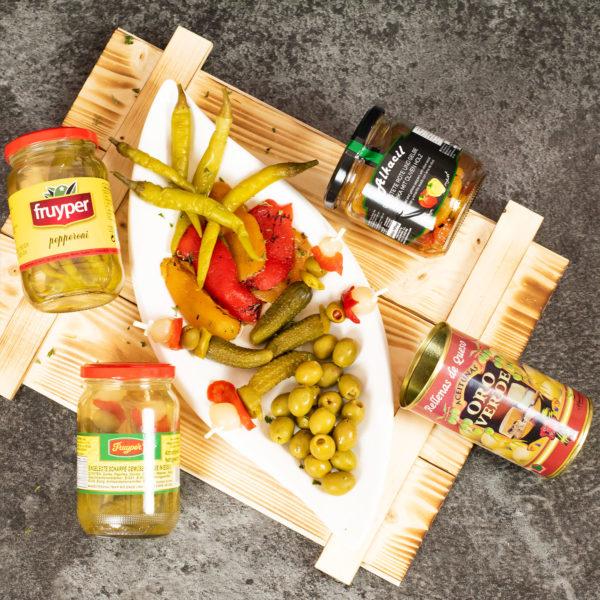 spanischer präsentkorb vegetarisch - sevilla