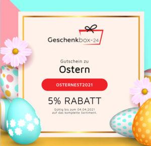 Ostern Gutschein Rabatt 2021 Geschenkkorb Präsentkorb